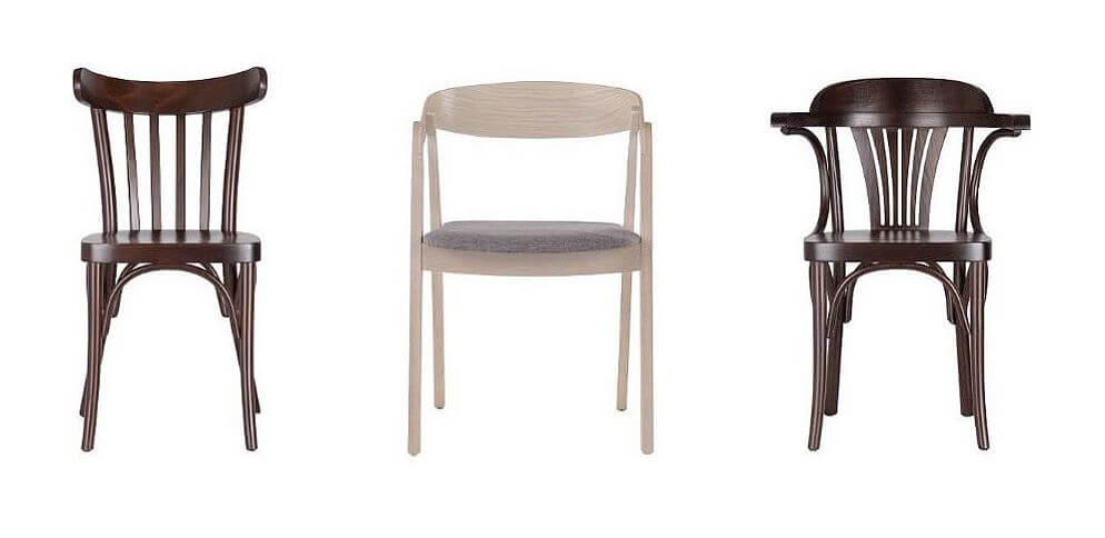 Krzesła gięte typu Fameg